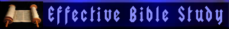 Effective Bible Study Logo
